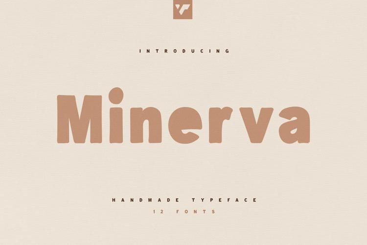 Minerva VP Font website image